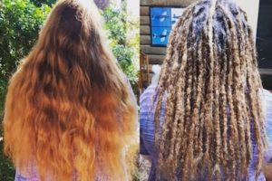 Dreadlocks installation long hair Newcastle