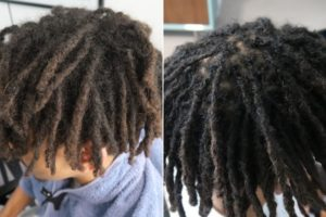 Mixed afro hair black dreadlocks Newcastle